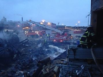 Branden på Octowood i Kälarne